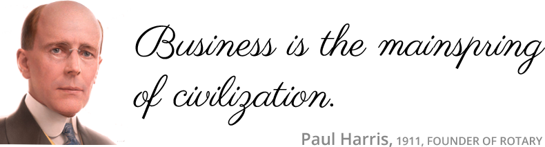 Paul Harris quote